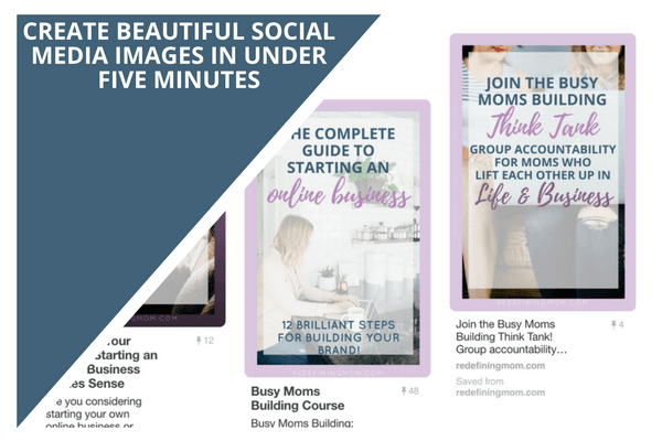 create beautiful social media images in under 5 minutes