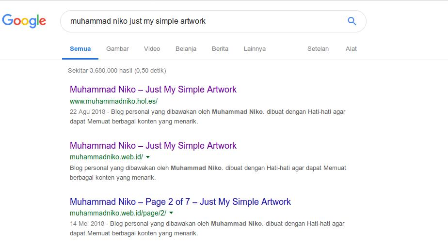Hasil Pencarian Blog Saya