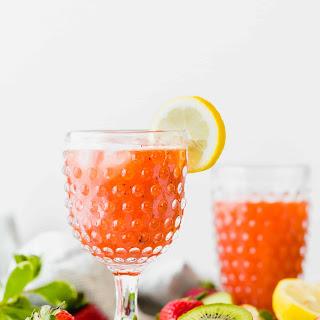 Strawberry Kiwi Lemonade.