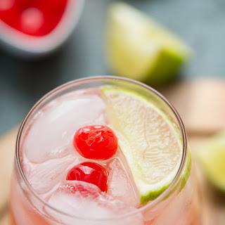 Cherry Sour Cocktail.