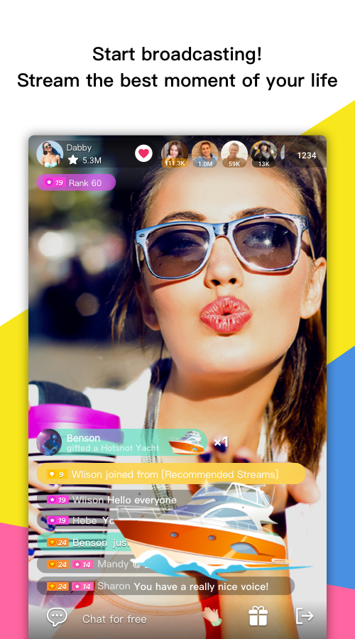 weTouch-Chat and meet people- screenshot