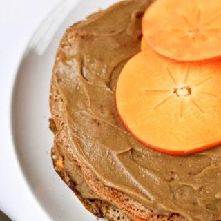 Chestnut Persimmon Crepe Cake [Vegan]