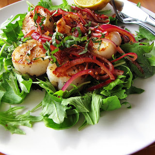 Scallops with Basil