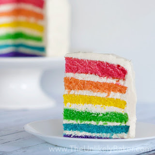 You Can Make Any Cake a Rainbow Cake