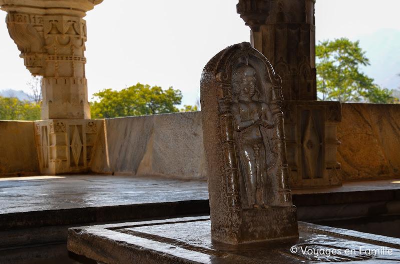 Ranakpur, empreinte Bouddha