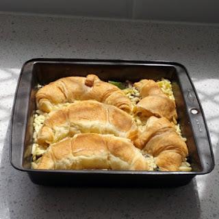 Croissant Brunch Casserole.