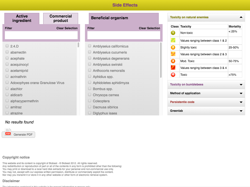 Biobest Side Effects- screenshot