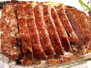 ~ Best Ham Loaf ~ Mustard Glaze