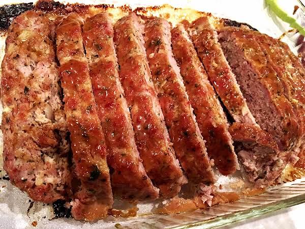 ~ Best Ham Loaf ~ Mustard Glaze Recipe