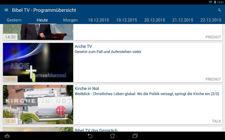 bibel tv app