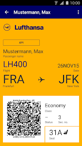Lufthansa screenshot 4