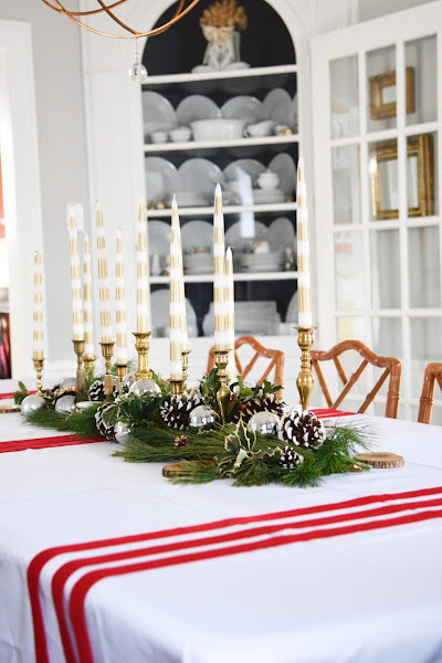 Photo: Such a gorgeous Christmas table by +Cecilia C. Cannon!  Get her tips to recreate this budget friendly tablescape ->> http://bit.ly/2hA4VWM