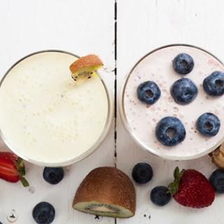 Quinoa, Fruit and Yogurt Parfait