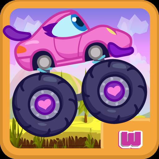 Pink Car supergirl: Bloom Club