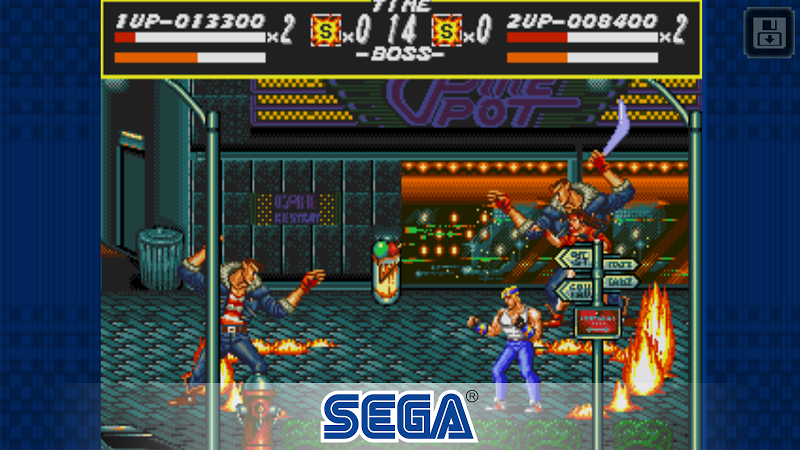 Streets of Rage Classic Screenshot 1