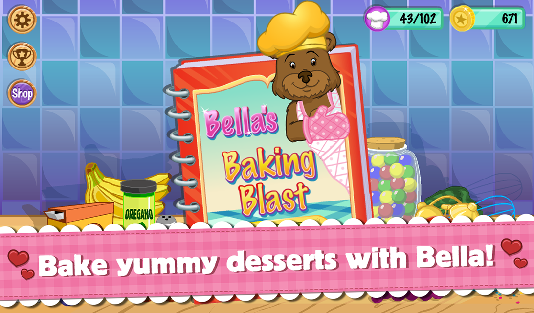 Bella's Baking Blast- screenshot