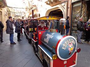 Photo: Santa's road train