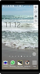 Seashore HD Live Wallpaper screenshot 0