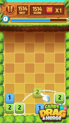 Candy Drag & Merge 1.9 screenshots 3