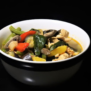 Thai Jungle Curry, Kaeng Pa, Made With Healthier Ingredients