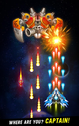 Space shooter - Galaxy attack - Galaxy shooter apktram screenshots 2