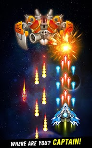 Space Shooter Galaxy Attack Mod Apk 1.455 (Unlimited Money) 2