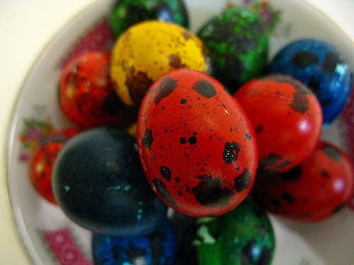 how to make tiny easter eggs