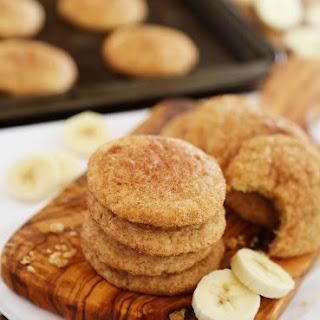 Soft Banana Snickerdoodles