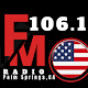 106.1 radio station Palm Springs CA APK