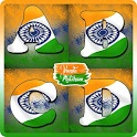 Indian Flag Letter Alphabets icon