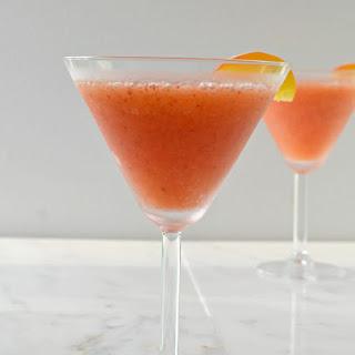 Strawberry Peach Daiquiri.