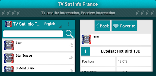 TV Sat Info France game (apk) free download for Android/PC/Windows screenshot