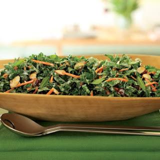 Crunchy Green Tahini Salad