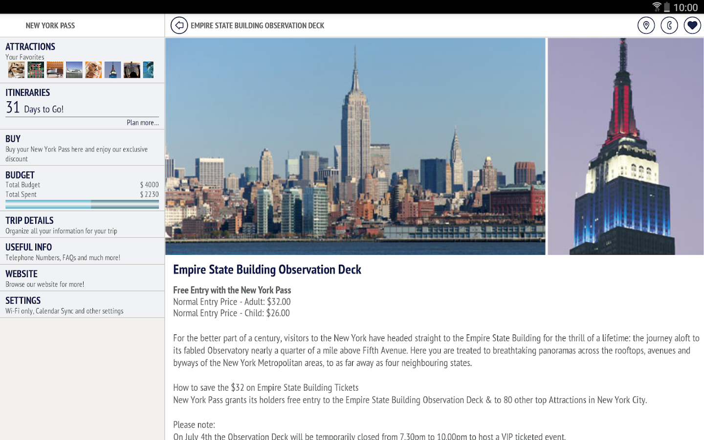 New York Pass - Travel Guide- screenshot
