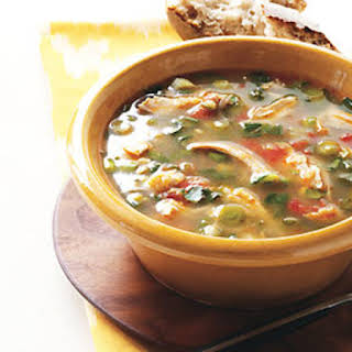 Chicken and Hominy Soup.