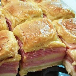 Honey Baked Ham Sandwiches Recipes.