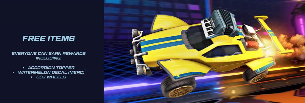 Rocket Pass Season 2 free items