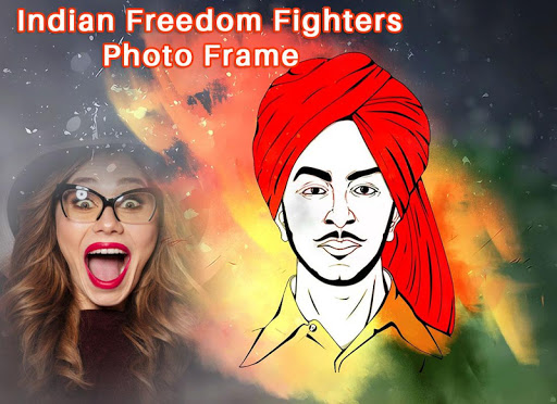 Indian Freedom Fighter Photo Frame 1.1 screenshots 1