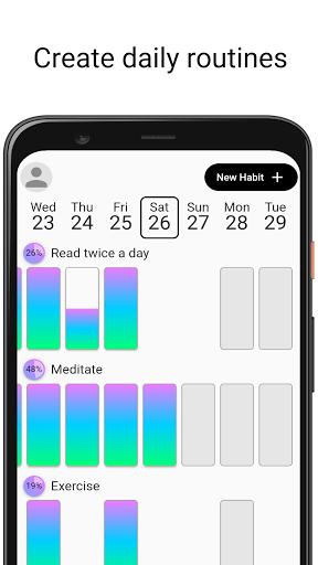 habit challenge - build new habits & change life screenshot 1