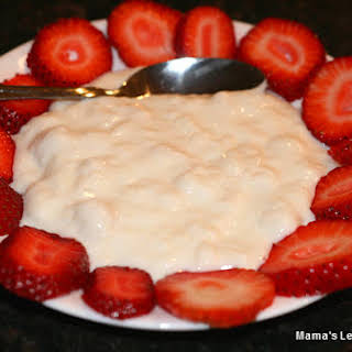 Original Ashta Recipe - Clotted Cream With Rose Water.