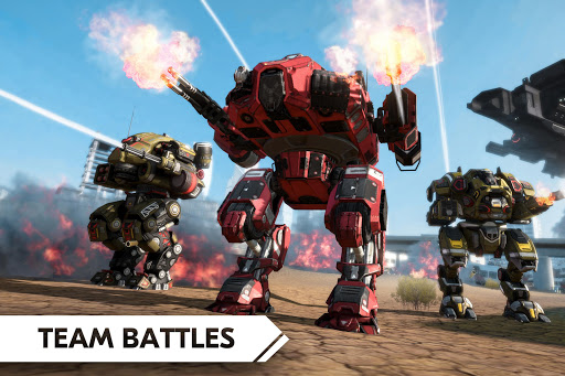 Robot Warfare: Mech Battle 3D PvP FPS (Mod Ammo)