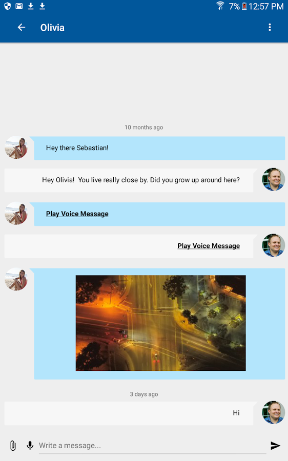 Nearby - Chat, Meet, Friend- screenshot