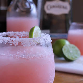 Pink Grapefruit Margaritas.