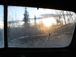 Photo: Morning light in the magic bus