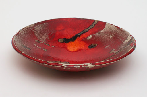 Bruce Chivers Ceramic Raku Charger 03
