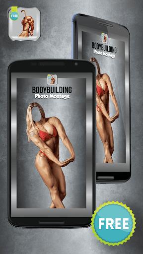 Bodybuilding Photo Montage