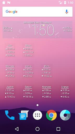 Astro Clock Widget 0.0.97-5 androidtablet.us 1