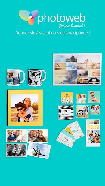 Photoweb - Impression Photo Android App Screenshot