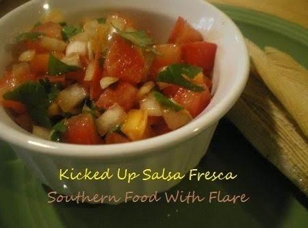 Kicked Up Salsa Fresca