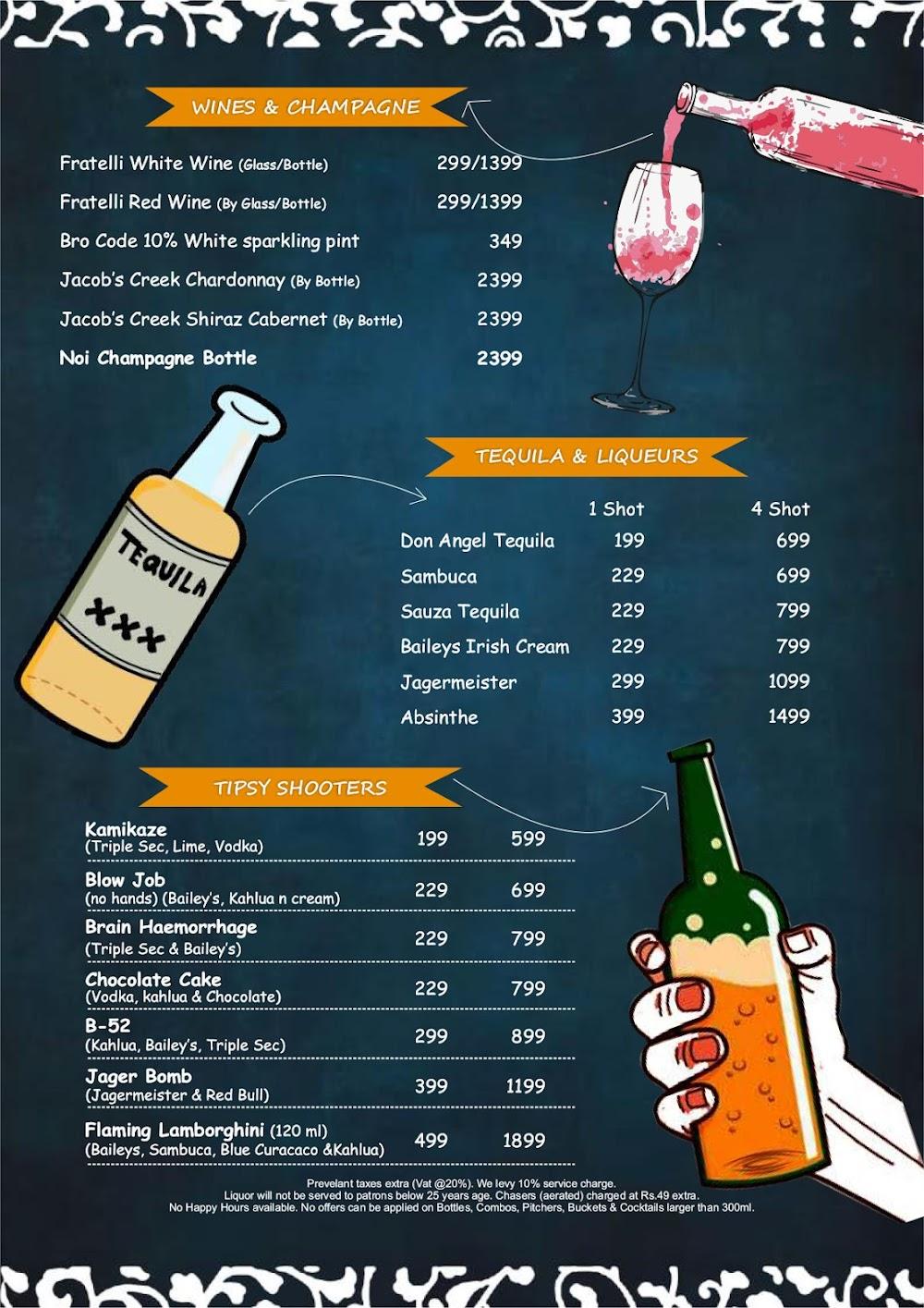 Chill'm Bar & Cafe menu 6